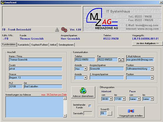 Softwareentwicklung Polaris Systems